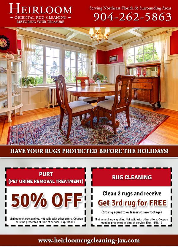 Online Specials Area Rug Cleaning Jacksonville Fl